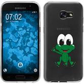 Samsung Galaxy A7 (2017) Silikon-Hülle Cutiemals Motiv 2