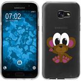 Samsung Galaxy A7 (2017) Silikon-Hülle Cutiemals Motiv 3