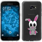 Samsung Galaxy A7 (2017) Silikon-Hülle Cutiemals Motiv 4