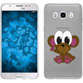 Samsung Galaxy J5 (2016) J510 Silikon-Hülle Cutiemals Motiv 3