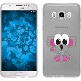 Samsung Galaxy J5 (2016) J510 Silikon-Hülle Cutiemals Motiv 6