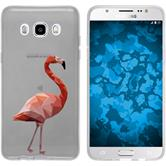 PhoneNatic Samsung Galaxy J5 (2016) J510 Silicone Case vector animals design 2 Case Galaxy J5 (2016) J510 + protective foils