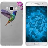 PhoneNatic Samsung Galaxy J5 (2016) J510 Silicone Case vector animals design 3 Case Galaxy J5 (2016) J510 + protective foils