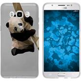 PhoneNatic Samsung Galaxy J5 (2016) J510 Silicone Case vector animals design 4 Case Galaxy J5 (2016) J510 + protective foils