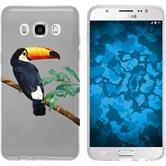 Samsung Galaxy J5 (2016) J510 Silikon-Hülle Vektor Tiere Motiv 5