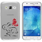 Samsung Galaxy J5 (J500) Silikon-Hülle Tierkreis Chinesisch Motiv 4