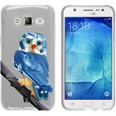 PhoneNatic Samsung Galaxy J5 (J500) Silikon-Hülle Vektor Tiere Motiv 1 Case Galaxy J5 (J500) Tasche + 2 Schutzfolien