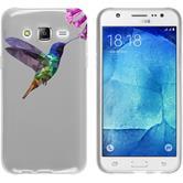 Samsung Galaxy J5 (J500) Silikon-Hülle Vektor Tiere Motiv 3