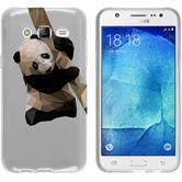 PhoneNatic Samsung Galaxy J5 (J500) Silicone Case vector animals design 4 Case Galaxy J5 (J500) + protective foils