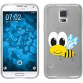 Samsung Galaxy S5 Neo Silikon-Hülle Cutiemals Motiv 1