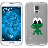 Samsung Galaxy S5 Neo Silikon-Hülle Cutiemals  M2