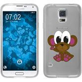 Samsung Galaxy S5 Neo Silikon-Hülle Cutiemals Motiv 3