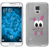 Samsung Galaxy S5 Neo Silikon-Hülle Cutiemals Motiv 4