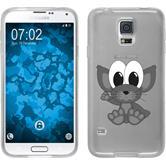 Samsung Galaxy S5 Neo Silikon-Hülle Cutiemals Motiv 5
