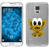 Samsung Galaxy S5 Neo Silikon-Hülle Cutiemals Motiv 7