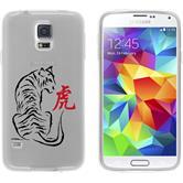 Samsung Galaxy S5 Neo Silikon-Hülle Tierkreis Chinesisch Motiv 3