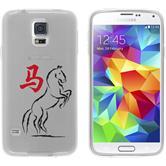 Samsung Galaxy S5 Neo Silikon-Hülle Tierkreis Chinesisch  M7