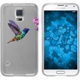 PhoneNatic Samsung Galaxy S5 Neo Silicone Case vector animals design 3 Case Galaxy S5 Neo + protective foils