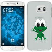 Samsung Galaxy S6 Edge Silikon-Hülle Cutiemals Motiv 2