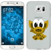 Samsung Galaxy S6 Edge Silikon-Hülle Cutiemals Motiv 7
