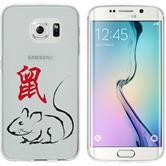Samsung Galaxy S6 Edge Silikon-Hülle Tierkreis Chinesisch  M1