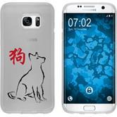 Samsung Galaxy S7 Edge Silikon-Hülle Tierkreis Chinesisch  M11