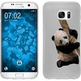 Samsung Galaxy S7 Edge Silikon-Hülle Vektor Tiere Motiv 4