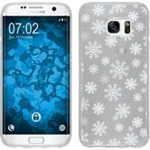Samsung Galaxy S7 Edge Silikon-Hülle X Mas Weihnachten Motiv 2