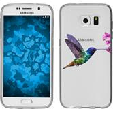 Samsung Galaxy S7 Silikon-Hülle Vektor Tiere  M3