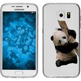 Samsung Galaxy S7 Silikon-Hülle Vektor Tiere Motiv 4