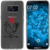 Samsung Galaxy S8 Plus Silikon-Hülle Tierkreis Chinesisch Motiv 10