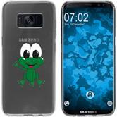 Samsung Galaxy S8 Silikon-Hülle Cutiemals Motiv 2