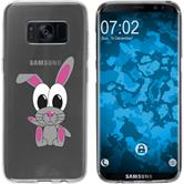 Samsung Galaxy S8 Silikon-Hülle Cutiemals Motiv 4