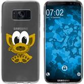 Samsung Galaxy S8 Silikon-Hülle Cutiemals Motiv 7