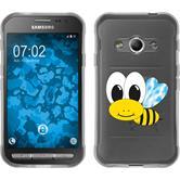 Samsung Galaxy Xcover 3 Silikon-Hülle Cutiemals Motiv 1