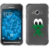 Samsung Galaxy Xcover 3 Silikon-Hülle Cutiemals Motiv 2