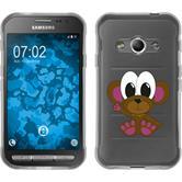 Samsung Galaxy Xcover 3 Silikon-Hülle Cutiemals Motiv 3