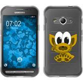 Samsung Galaxy Xcover 3 Silikon-Hülle Cutiemals Motiv 7