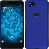 Hardcase Pixel 2 rubberized blue Case