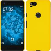 Hardcase Pixel 2 rubberized yellow Case