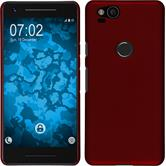Hardcase Pixel 2 rubberized red Case