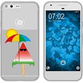 Google Pixel XL Silicone Case summer M6