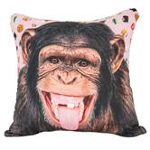 cosey cushion cover 40x40, cushion cover with motif for decorative cushion, sofa cushion - different motifs Polyester D1 monkey