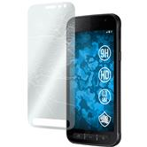 2 x Galaxy Xcover 4 Protection Film Tempered Glass clear