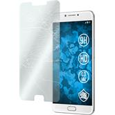 2 x Galaxy C7 Pro Protection Film Tempered Glass clear