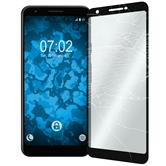 2 x Pixel 3a XL Protection Film Tempered Glass clear full screen black