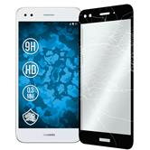 2 x P9 Lite Mini Protection Film Tempered Glass clear full screen black