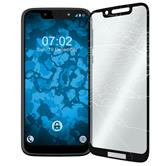 1 x Moto G7 Play Protection Film Tempered Glass clear full screen black