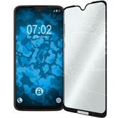 2 x Moto G7 Protection Film Tempered Glass clear full screen black
