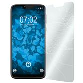 2 x Moto G7 Power Protection Film Tempered Glass clear